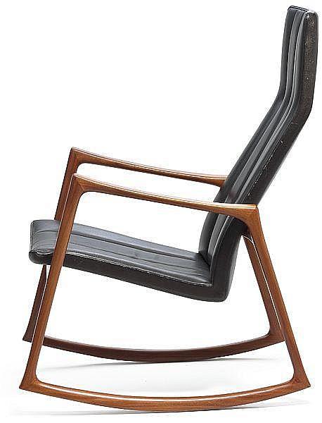 Mahogany Love Seat and Rocking Chair