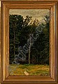 Cilius Andersen A glade. Signed and dated Cilius, Cilius Andersen, Click for value