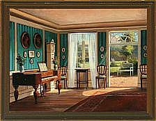 Frederik Wilhelm Svendsen: Interior with daylight
