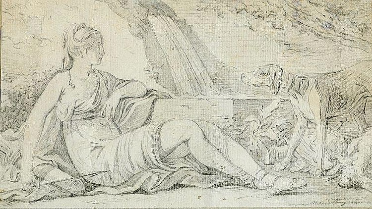 Johan Mandelberg: A pair of allegories. (2).