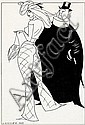 Stig Lommer: Lommerpige (Lommer Girl), nr. 363. Signed Lommer. Indian ink on paper. Visible size 41 x 26 cm.