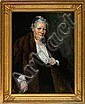 Herman Vedel: Portrait of an elderly lady. Signed, Herman Vedel, Click for value