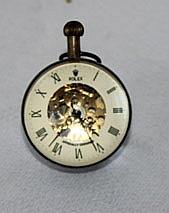 A Brassed Mounted Table Clock ,
