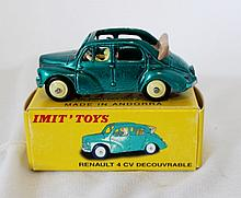 A Imit Toys Renault 4CV Decouvrable Die Cast Model ,