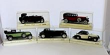A Selection of Boxed Solido Die Cast Models
