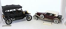 A Selection of Boxed Die Cast Metal Franklin Mint Scale Models ,