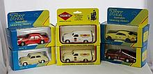 A Selection of Die Cast Trax Boxed Models