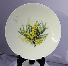 Attributed to Royal Worcester , A Cabinet Plate ,