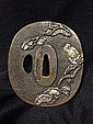 A Japanese Bronze Tsuba, Probably Meijii Period
