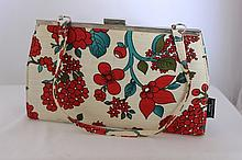 A Catherine Mannual Design Bag w 24 cm , modelled
