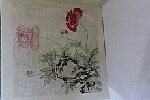 After Zhou Yi Gui 1686-1772 An Artist's book with