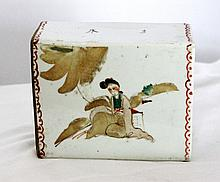 A Chinese Porcelain Pillow , Probably Republic