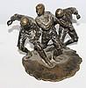 An F Timpe Bronze Figure Group