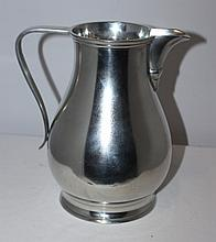 A Quality 18th Century Style Pewter Ale Jug John