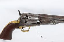 An Early Number Colt Model 1861 Navy Revolver, c