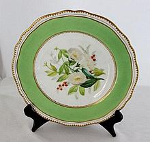 A 19th Century Cabinet Copeland Plate,