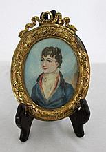 19th Century Portrait Miniature, c1900