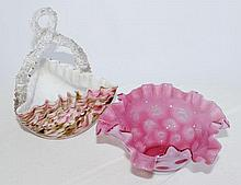 A Selection of Good Quality Cased Glass Bowls,