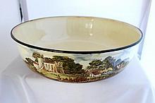 A Royal Doulton Series Ware Bowl, c 1930