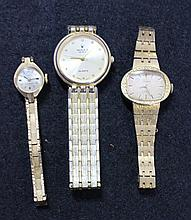 A Selection of Ladies Goldfill Watches ,