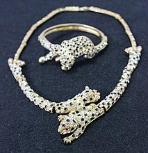 After A Design By Cartier, A Suite of Figural Jewellery,