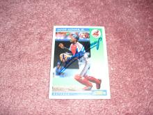 Sandy Alomar Jr Autograph Card