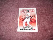 Shea Hillenbrand Autograph Card