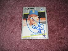 Jay Buhner Autograph Card