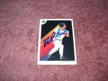 Mike Grenwell Autograph Card