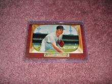 1955 Bowman Lou Kretlow Ex-Vg Condition Baltimore Orioles