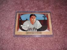 1955 Bowman Jim Piersall Ex-Vg Condition Boston Red Sox