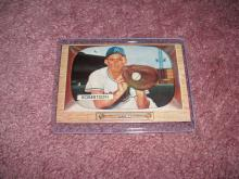 1955 Bowman Robertson Ex-Vg Condition Kansas City Athletics
