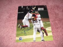 Jason Varitek Autograph 8x10 Photo W/ MLB COA