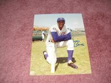 Ernie Banks Autograph 8x10 Photo