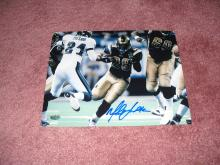Marshall Faulk Autograph 8x10 Photo