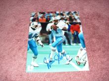 Warren Moon Autograph 8x10 Photo