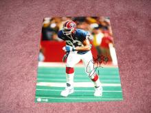 Andre Reed Autograph 8x10 Photo Pro Football Hall Of Famer