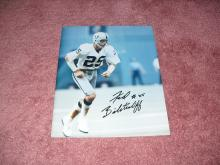 Fred Biletnikoff Autograph 8x10 Photo