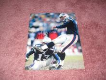 Adam Vinatieri Autograph 8x10 Photo