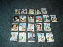 1970 Topps (20) Card Lot