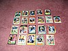 Oakland A's Autograph Team 21 Card Lot