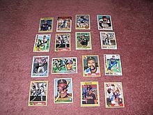 California Angels Autograph 16 Card Team Lot