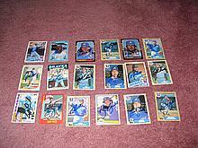 Atlanta Braves Autograph 18 Card Team Lot