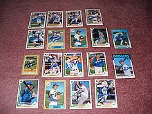 L. A. Dodgers Autograph 14 Card Team Lot
