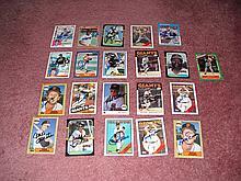 San Fanscisco Giants Autograph 21 Card Team Lot