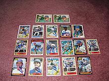 Texas Rangers Autograph 18 Card Team Lot