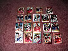 Cincinnati Reds Autograph 19 Card Team Lot