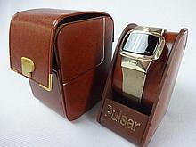 Hamilton Pulsar Dress Model Hamilton Employee Award Watch Never Worn 14k Gold Filled SN 709995