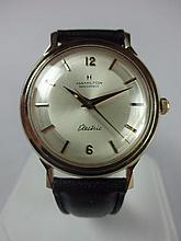 1961 Hamilton Summit Masterpiece Wristwatch 14kt Gold 505 Electric Movement