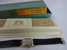 1937 Hamilton Dorsey 14kt Solid Gold Wristwatch 19j 982 Grade Movement